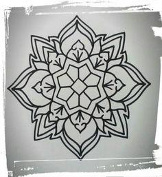 Honky Tonk tatuajes mandala by Mario Franco