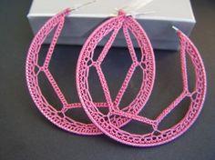 Schmuckkästchen Hardware - Wire Jewelry For Beginners - Zubehör Jewelry Box Hardware, Wire Jewelry, Handmade Jewelry, Crochet Earrings Pattern, Crochet Necklace, Crochet Patterns, Thread Crochet, Love Crochet, Crochet Flowers