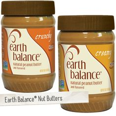 #Earthbalance and #Vegan.