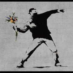 Street Art - Bansky  #bansky #graffiti #streetart #artwork #artist