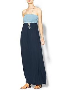 Summer!!! Hive & Honey Strapless Two Toned Knit Maxi | Piperlime