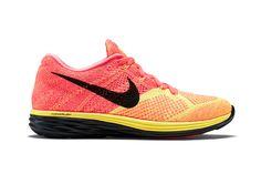 Nike Flyknit Lunar 3 Hot Lava/Laser Orange-Black