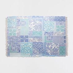 BLUE DIGITAL PRINT RUG - Rugs - Decoration   Zara Home United States of America