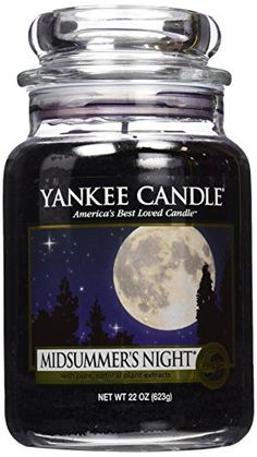 Yankee Candle Midsummer's Night- Second Favorite Candle Scent!