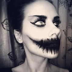 maquillage-zombie-halloween-déguisement-make-up-art-design