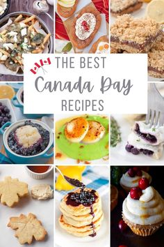A collection of the best Canada Day food ideas and recipes. This compilation of 20 easy and fun Canada Day recipes will provide breakfast, appetizers, lunch, snack, and dessert inspiration for both adults and kids to celebrate a delicious Canada Day on July 1st. Some are healthy, some simply decadent!