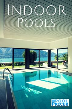 How Much Does an Indoor Pool Cost? Swimming Pool Cost, Swiming Pool, Luxury Swimming Pools, Luxury Pools, Swimming Pools Backyard, Dream Pools, Pool Landscaping, Pool Shapes, Small Pools