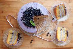 Borůvkový mascarpone dort - Avec Plaisir
