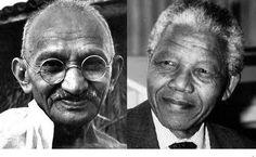 """The Mahatma Gandhi- Nelson Mandela series""."