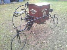 Early (very early) cargo bike/trike.......