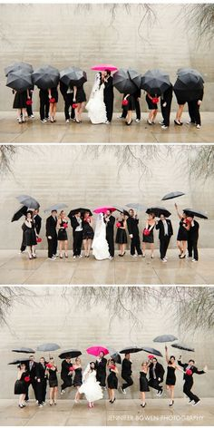 bridalparty_umbrellas