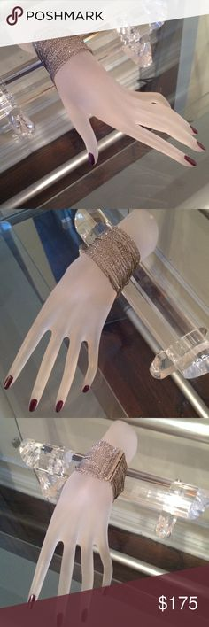 Silver bracelet Super cool silver strand bracelet. This bracelet is so fabulous you can dress it up or dress it down or make it your every day piece! By New York designer Roberta Chiarella Roberta ChiRoberta Chiarellaarella Jewelry Bracelets