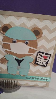 Melody Lane Designs: Get Well Soon Teddy Bear Parade