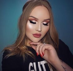 Obsessed!!! Perrie Edwards inspired makeup by nikkie tutorials