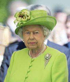 Queen Elizabeth attends D Day