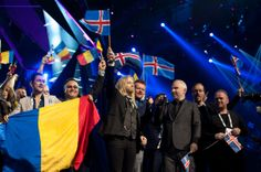 Second Semi-Final: Winners on stage