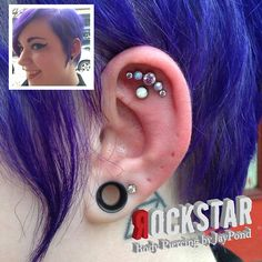 I decided that a 21/2 hour drive from Norwalk, CT was totally worth it to go visit Rockstar Piercing in Providence, RI. And damn, was ...