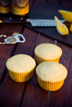 Hefeweizen (Wheat Beer) Cupcakes - from Cupcake Project