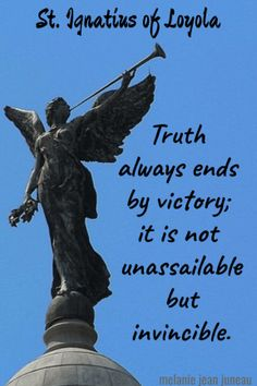 truth always ends by victory