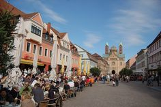 Speyer, Germany Stated and went to school for a few weeks in Speyer with host family. Walked through this stretch!