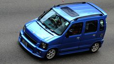 Suzuki Wagon R, Kei Car, Toyota Hiace, Old School Cars, Weird Cars, Daihatsu, City Car, Japanese Cars, Small Cars