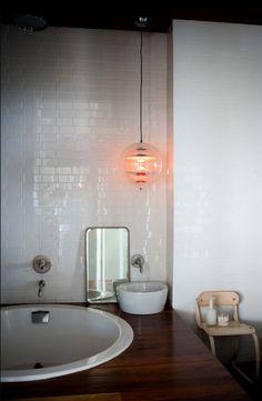 Verpan Globe - love it. Get it here: http://www.mulvdarp.dk/shop/verpan-pendel-lampe-9491p.html