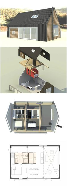 Dune Prefab House - Spacious and Affordable Living