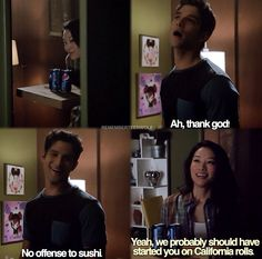 Kira and Scott. Teen Wolf