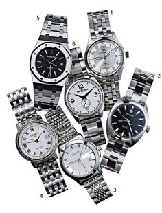 Our Favorite Men's Watches: Perfect Wardrobe