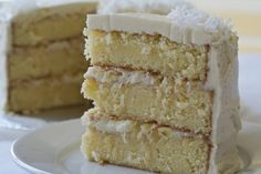 Cake Recipes From Scratch | Coconut Pineapple Cake Recipe from Scratch - MakeBetterFood.com
