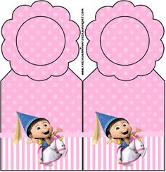 Despicable Me Girls - Bookmark