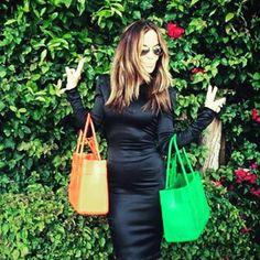 Double bag it... #GreatBagGirls #ModelM #Emerald #Topaz // #Swing one today! http://ift.tt/1hgLNvL