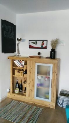 Mueble aux / barra total hand made