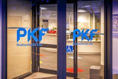 Entrance Doorway PKF SMART Business Hub - NZ