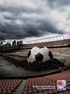 """""""The world's biggest game is here.  Fifa U-20 World Cup Canada 2007."""""""
