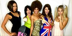 Nina Dobrev and her besties dressed up as legendary girl group, The Spice Girls!
