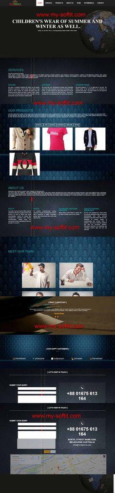Today We are complete MC FABRICS Website Design and Development. Thanks For Our Web Design and Development Team. http://mcfabrics.com