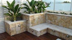 Sandstone Garden Walls Palm Beach