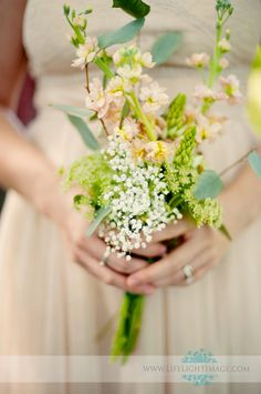 Wildflower bouquet..nice and simple, elegant.