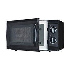 Westinghouse WCM660B 600 Watt Counter Top Rotary Microwave Oven, 0.6 Cubic Feet, Black