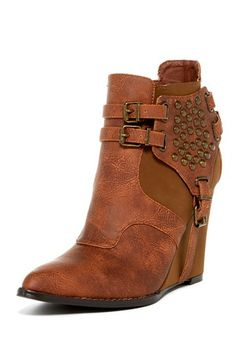 April Wedge Bootie by Penny Loves Kenny on @HauteLook