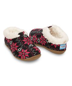 Look what I found on #zulily! Flake Knit Classics Slipper - Tiny #zulilyfinds