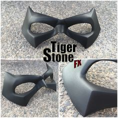 Tiger Stone FX - Arkham Knight Robin mask - Movie quality costume parts and props. Cosplay is for everyone! Red Hood Costume, Red Hood Cosplay, Robin Cosplay, Robin Costume, Cosplay Diy, Movie Quality Costumes, Dc Costumes, Costume Ideas, Super Hero Outfits