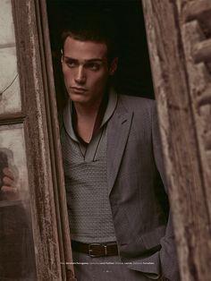 Richard Deiss for L'Officiel Homme Suisse by Fabrizio Scarpa.