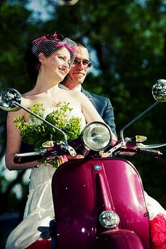 Scooter Wedding!