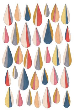 Pattern and Co. - raining by depeapa on Flickr.