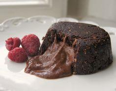 Vegan Chocolate Molten Lava Cakes