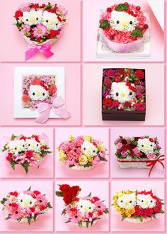 hello kitty bouquets – knody hello kitty flower bouquet hello kitty flowers in tokyo flowers 80 best images about arr Hello Kitty Crafts, Sanrio Hello Kitty, Hello Kitty Centerpieces, Flower Bouquet Delivery, Flower Delivery, Wonderful Day, Hello Kitty Collection, Cat Party, Floral Arrangements