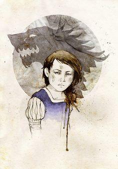 Arya Stark by Elia Fernández