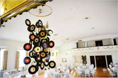 Not a centerpiece, but something you might be able to do for the stage area? - 2ee's Photography: How to Avoid A Cookie Cutter Wedding